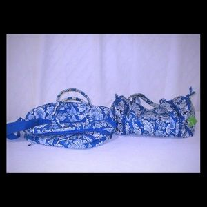 NWT Vera Bradley travel tote and duffel bags!